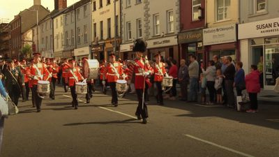 Veterans parade to mark 50 years since Operation Banner.