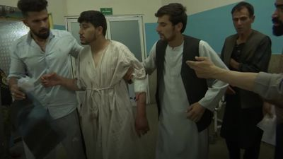 Suicide bombing at wedding in Kabul kills at least 63
