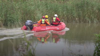 Volunteers from 'far and wide' helping in river search for missing six-year-old