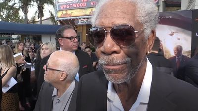 Morgan Freeman says money was the motivation for latest film role