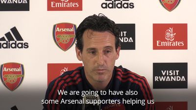 Emery preparing for 'big challenge' as Arsenal head to Anfield