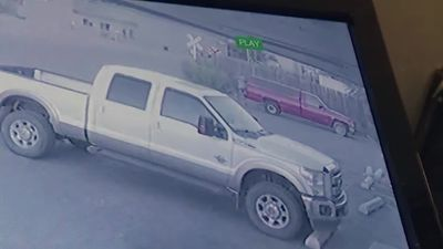 Man has truck stolen while committing robbery across the street