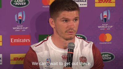 Farrell: England will be spurred on by 2015 World Cup disappointment