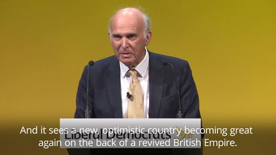 Sir Vince Cable: Boris Johnson is not learning from Churchill's mistakes