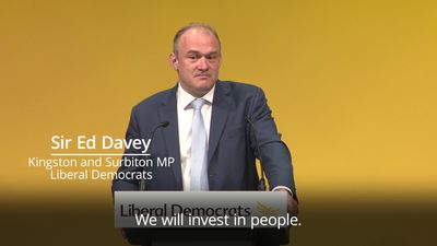Sir Ed Davey: Lib Dems are our country's last hope to stop Brexit