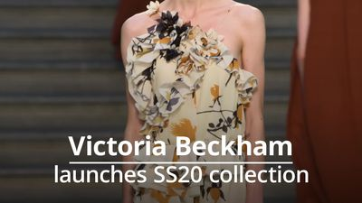 Victoria Beckham SS20 catwalk stuns London Fashion Week