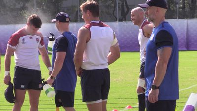 England train in Japan ahead of the Rugby World Cup