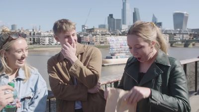 Britain's Got Talent magician shows off magic tricks in London
