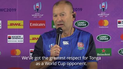 England expecting 'ferocious battle' against Tonga in World Cup opener
