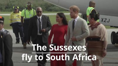The Duke and Duchess of Sussex prepare for family tour of South Africa