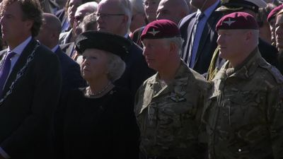Mass parachute drop marks 75th anniversary of Arnhem operation