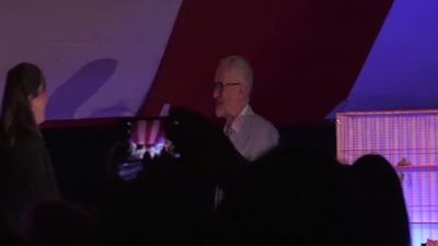 Corbyn addresses activists at Labour conference fringe event