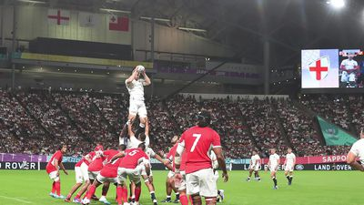 England 35-3 Tonga: Bonus-point win for Eddie Jones' men