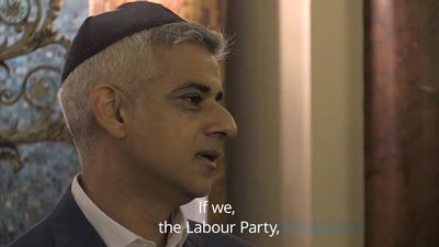 Sadiq Khan: Hierarchy of racism exists within the Labour Party