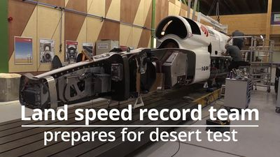 Bloodhound Land Speed Record prepares for trial run in South Africa