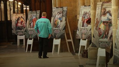 Michelangelo artworks go on display in Hull