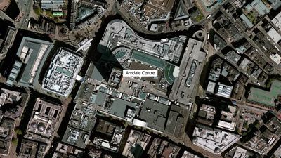 Stabbing at Manchester Arndale Centre: Map