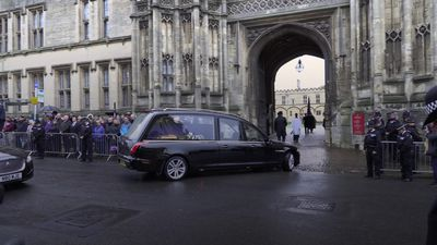 Hundreds turn out for killed Pc Andrew Harper's funeral