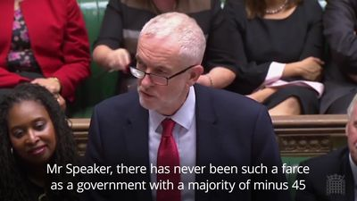Corbyn brands Government a 'farce' after Queen's Speech