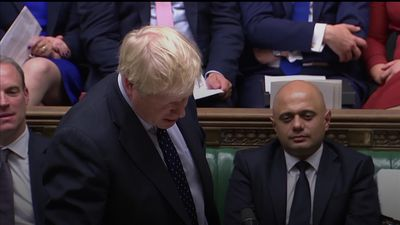 Boris Johnson says Corbyn can't make his mind up
