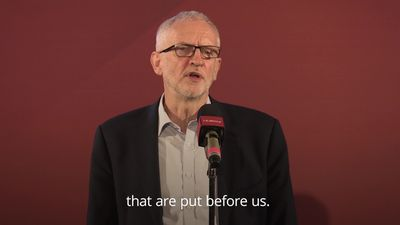 "Jeremy Corbyn: Queen's Speech was ""bereft of content"""