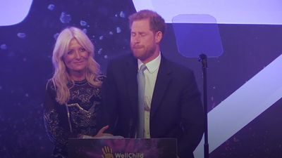Prince Harry becomes emotional paying tribute to inspirational children at WellChild Awards