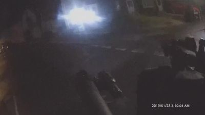 Body cam footage released of 'man firing at police'