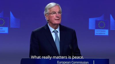 Barnier on Brexit deal: We have delivered and we have delivered together