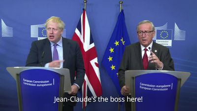 'Have a good time' - Jean-Claude Juncker signs off press conference in dismissive fashion