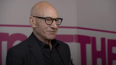 Sir Patrick Stewart addresses People's Vote rally