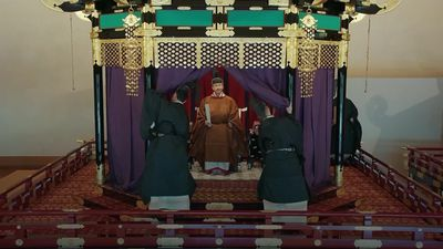 Prince Charles watches Japan's new emperor take to the the throne