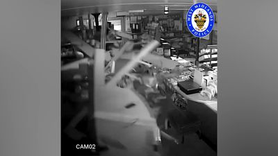 Five jailed after police catch cash machine heist gang