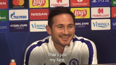 Lampard laughs of 'scared' of Ajax comments