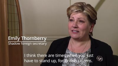 Shadow foreign secretary Emily Thornberry on Harry Dunn tragedy