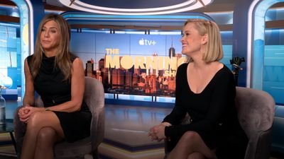 Reese Witherspoon and Jennifer Aniston on working together again on The Morning Show