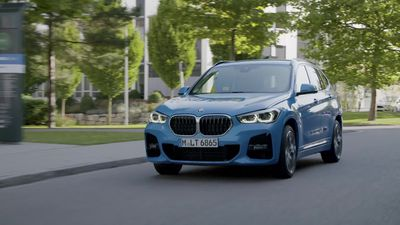 This is the updated BMW X1