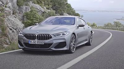 This is the new BMW 8 Series Gran Coupe