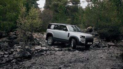 This is the new Land Rover Defender