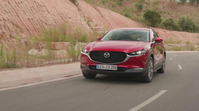 This is the new Mazda CX-30