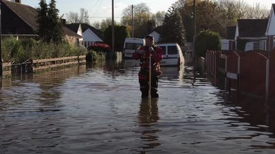 Fishlake near Doncaster remains under 3ft of water