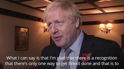 Boris Johnson welcomes Brexit Party decision not to stand in seats won by Tories in 2017