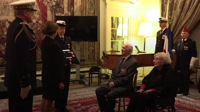 'Humble' Second World War veterans receive Legion d'Honneur