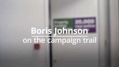 Boris Johnson answers questions on Brexit, the economy and Marmite from the election trail