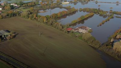 Farmer describes devastating impact of floods on his business
