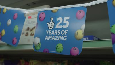 25 years of the National Lottery