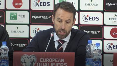 Gareth Southgate celebrates 'confident' England after Euro 2020 qualification as Mason Mount scores