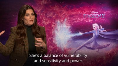 Idina Menzel: Frozen's Elsa reminds me to be proud of who I am