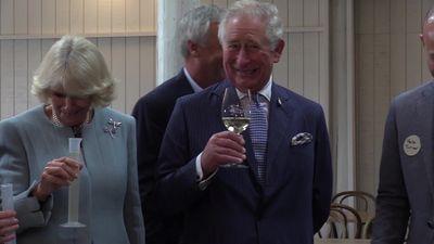 Charles and Camilla make their own wine in New Zealand