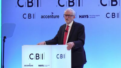 Corbyn dismisses claims he is against UK business