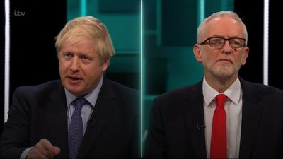 Corbyn and Johnson clash in leaders' debate